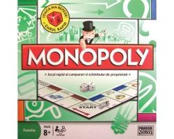 Joc Monopoly, 8 ani+, firma Hasbro